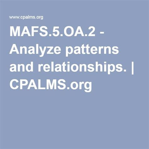 pattern and relationships in math 43 best images about math algebraic thinking operations