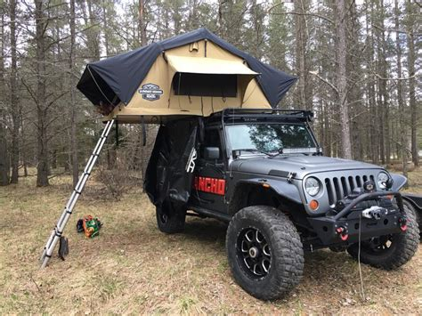 jeep cing trailer roof tent for jeep wrangler unlimited best roof 2017