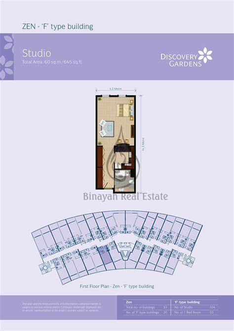 gardens floor plans apartment for sale and rent in discovery gardens dubai