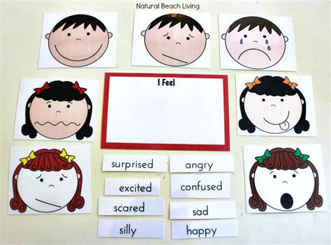 montessori printables emotions managing feelings and emotions free printables natural