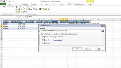 Importing Data From Excel Into Sage 300 Construction And Real Estate Part 1 Of 4 Youtube 300 Import Templates Excel