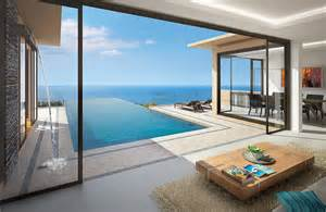 Luxury Beach House Floor Plans Thai Interior Design Phuket Private Pool Villas House