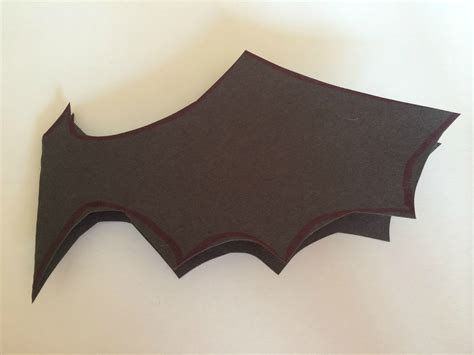 How To Make A Bat With Paper - mini monets and mommies bat paint project