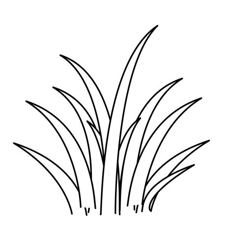 Grass Coloring Pages free coloring pages of grass