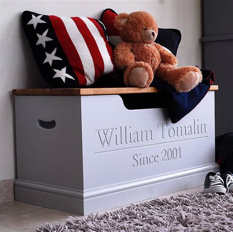 personalised toy box  storage chest  chatsworth