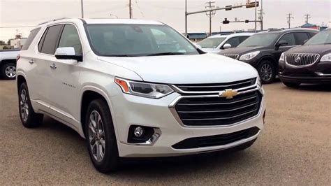 how much is a chevrolet traverse 2018 chevrolet traverse premier awd with new infotainment