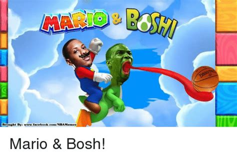 Mario Chalmers Meme - brought by t by www facebook comnbamemes dd mario bosh