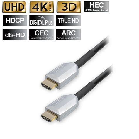 Kabel Hdmi 30cm Hi Speed transmedia 15m hdmi kabel m ethernet echt 3d highend arc cec hd tv lcd uhd 4k sat germany
