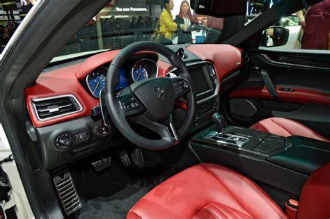 maserati car interior 2017 maserati ghibli interior image 121