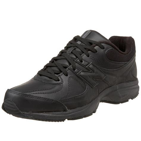 black walking sneakers new balance mens mw410 health walking shoe in black for
