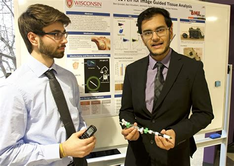 reverse career fair puts student projects  display campus technology