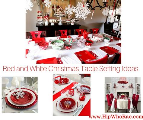 red and silver christmas table decorations christmas table decorations red and white home design