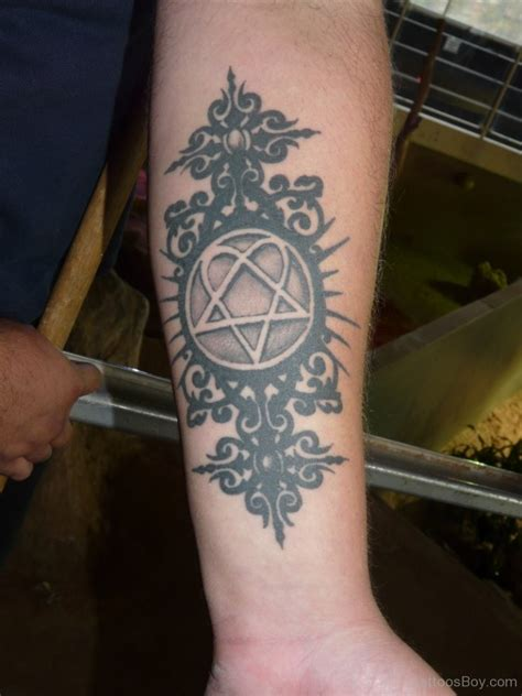 heartagram tattoo designs heartagram tattoos designs pictures page 5