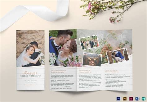 20 wedding planner brochure free psd ai eps format