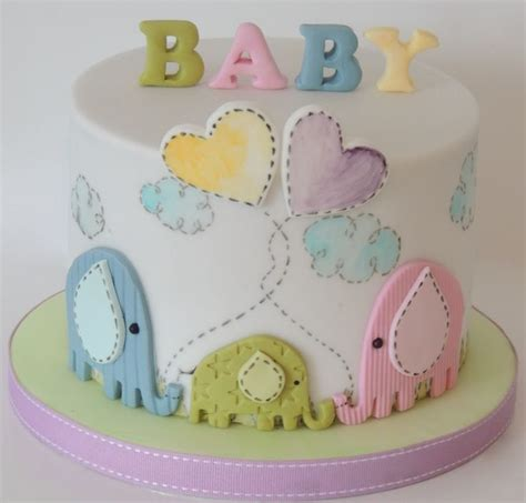 Unisex Baby Shower Cakes by Living Room Decorating Ideas February 2015