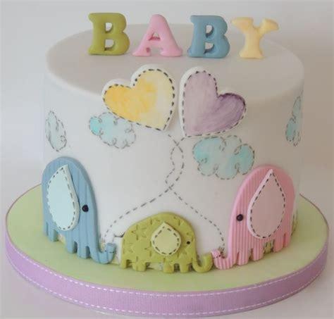 Unisex Baby Shower Cake by Unisex Elephant Baby Shower Cake Other Ideas