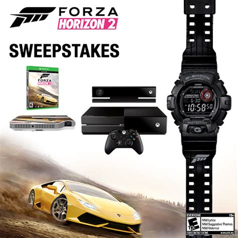 Forza Sweepstakes - g shock soho store casio g shock