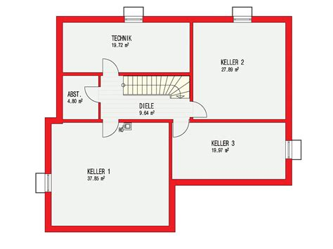 Kubus Haus Grundriss by Kubus 223 Einfamilienhaus D 246 Rr Haus