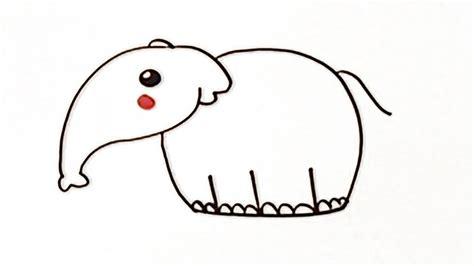 imágenes de elefantes fáciles para dibujar c 243 mo dibujar un elefante manualidades para ni 241 os youtube