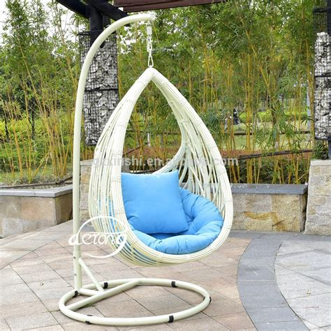 cheap garden swing chairs pe rattan garden hanging egg chair cheap price patio leaf
