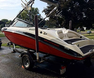 yamaha jet boat perfect pass yamaha boats for sale in coshocton ohio