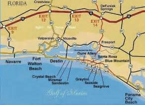 where is destin florida on the map 25 best map of florida panhandle ideas on