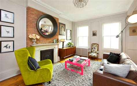 my home design nyc west village townhouse is formal and fun with a bold