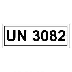 Un Aufkleber Bestellen by Un Verpackungskennzeichen Mit Un 3082 Aufkleber Shop