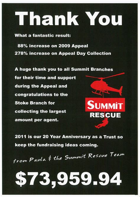 summit rescue july 2010 nelson real estate