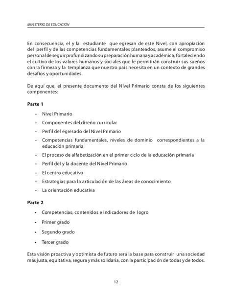 Diseño Curricular Dominicano Nivel Primario Segundo Ciclo Curriculo Nivel Primario Dominicano 2016