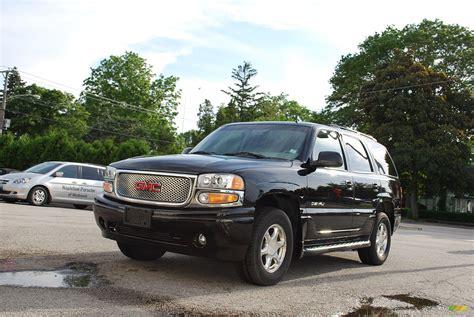2002 gmc yukon denali for sale 2002 gmc yukon denali awd in onyx black 213900