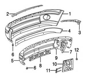 Oem Dodge Parts 2002 Dodge Dakota Front Bumper Auto Parts Diagrams