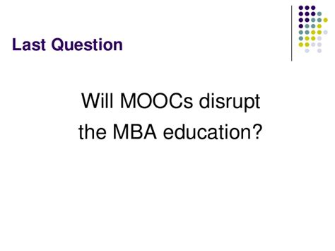 Mooc Mba Degree by Moocs For Mba