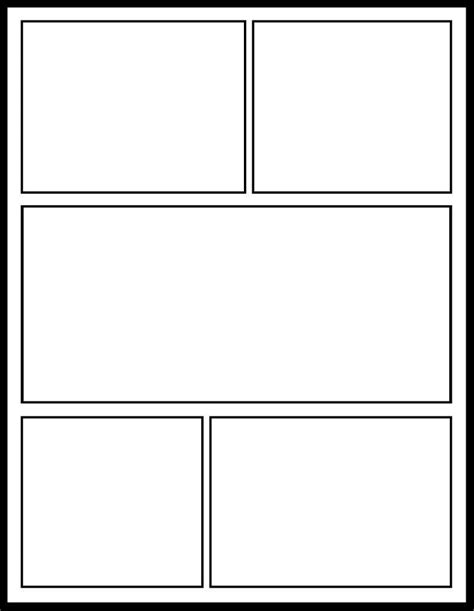 Blank comic book pages - Story Arcs. Website: http://www