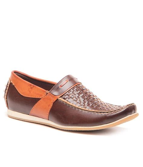 mc shoes mc bright brown casual shoes price in india buy mc bright