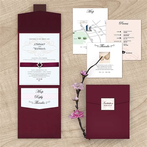 Wedding Invitations Burgundy by Maroon Wedding Invitations Sunshinebizsolutions