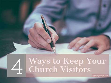 4 Easy Ways To Keep Visitors On Your Site 4 To Keeping More Of Your Church Visitors