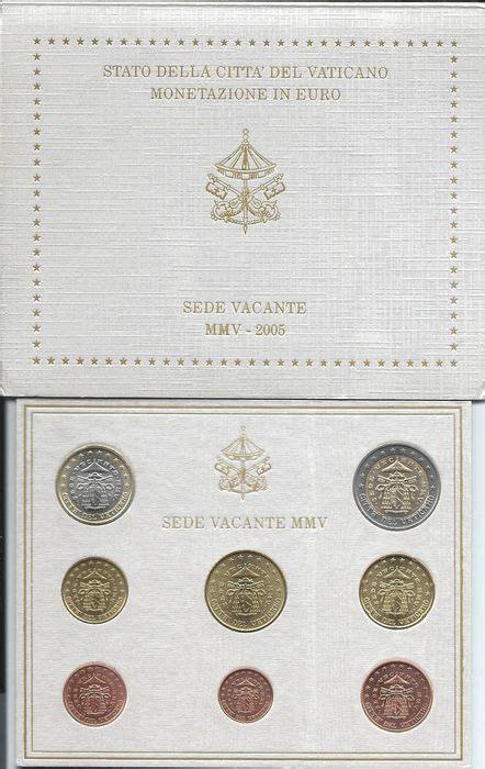 sede vacante 2005 vatican year pack 2005 quot sede vacante quot catawiki