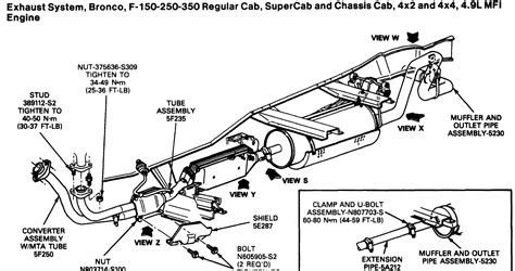 ford f150 exhaust diagram 2004 ford escape exhaust diagram engine diagram and