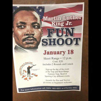 martin luther king day flyer  martin luther king jr fun