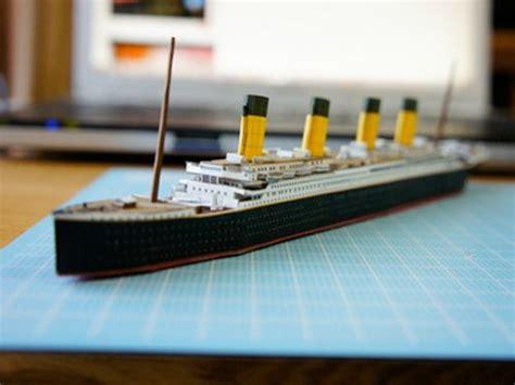 Titanic Papercraft - maqueta titanic descargables gratis para imprimir