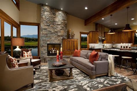 modern country homes interiors d 233 coration d int 233 rieur salon 135 id 233 es en styles vari 233 s