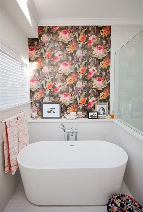 can i wallpaper a bathroom wallpaper ideas to make your bathroom beautiful ward log