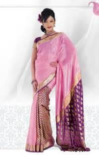 Saree Draping Types That Are Famous Mysore Silk Mysore Crepe Silk Saree Is The