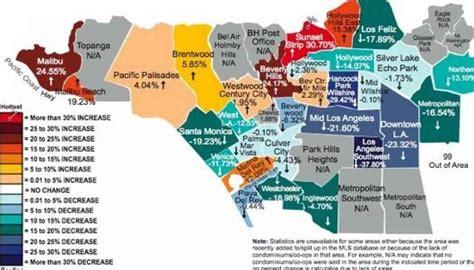 map of neighborhoods 2 los angeles map of neighborhoods