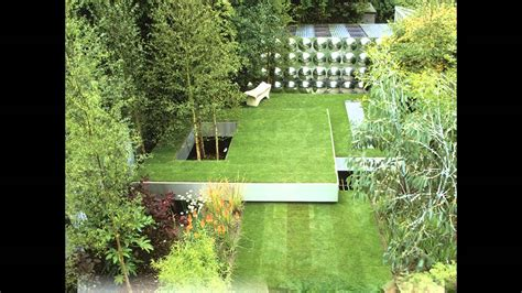 creative small square garden design