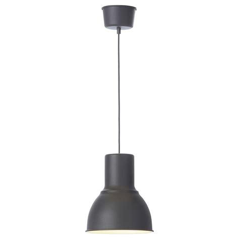 pendant light hektar pendant l grey 22 cm ikea