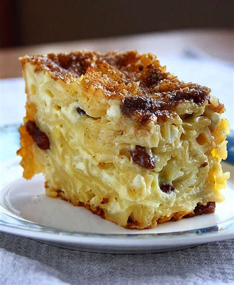 Noodle Kugel Cottage Cheese by Collecting Memories Sweet Noodle Kugel