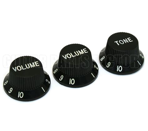 White Jazz Bass Knobs by Jazz Bass Knobs
