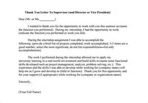 internship thank you letter 9 free word excel pdf
